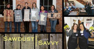 Sawdust Savvy Workshop