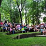 Campfire programs at St. Croix Bluffs Regional Park