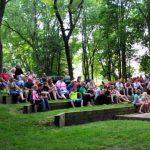 Campfire programs at St. Croix Bluffs Regional Park