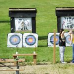 Target archery practice for all skill level at Lake Elmo Park Reserve