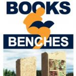 Books & Benches at Freedom Park in Prescott, WI