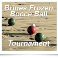 Brine's Frozen Bocce Ball Tournament