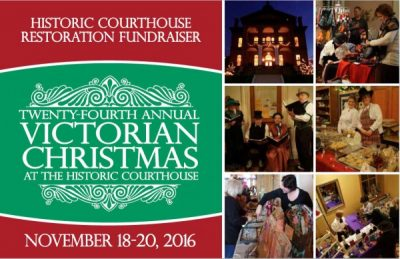 Victorian Christmas as the Courthouse - Gala Fundraiser