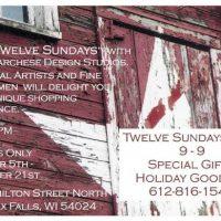 Twelve Sundays Sale