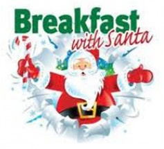 Breakfast with Santa at Dock Cafe