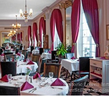 Christmas Dining at Lowell Inn