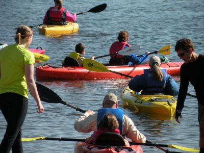 Learn to Kayak on Lily Lake