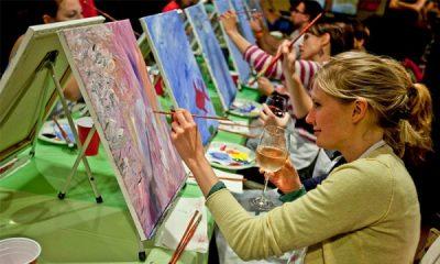 Paint Nite - Art class in a bar or restaurant