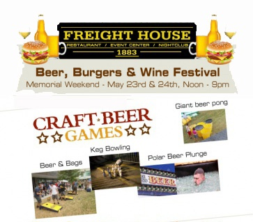 Beer, Burgers and Wine Festival