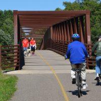 Brown's Creek Bike Trail Opening Celebration