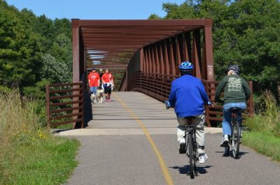 Brown's Creek Bike Trail Opening Celebration