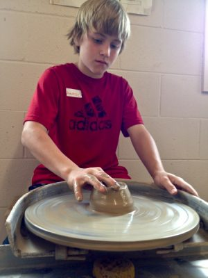 Pottery on the Wheel, Ages 7 - 12