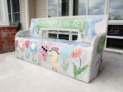 Art Bench Bayport